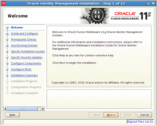Installing Oracle Identity and Access Management components | Ora