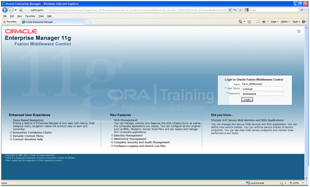 Configure Oracle Identity and Access Management components