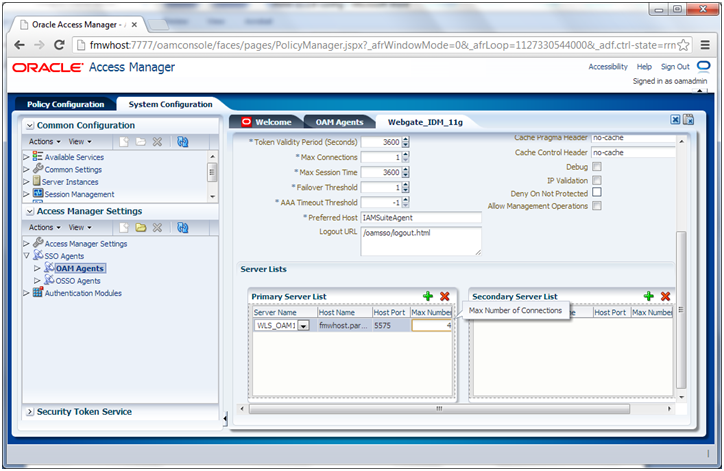Oracle Fusion Applications Installation: Configure Oracle