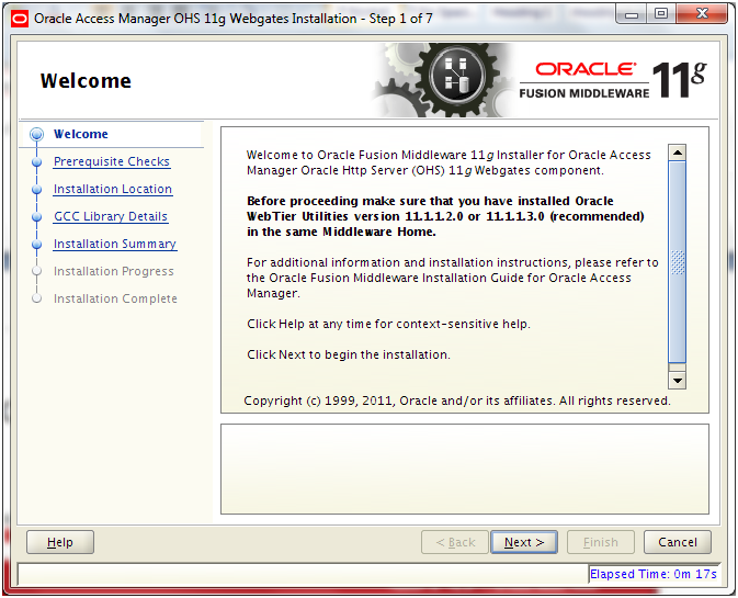 Oracle Fusion Applications Installation: Integrate Oracle