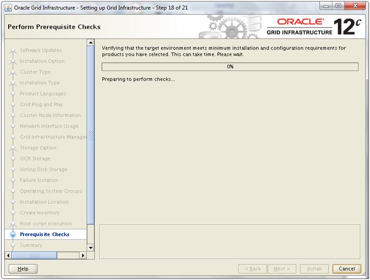 Installing 12c RAC on Linux VM: Install Oracle Grid