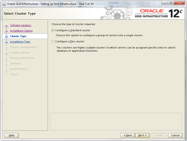 Installing 12c RAC on Linux VM: Install Oracle Grid Infrastructure