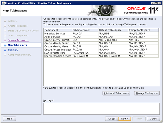 Run Repository Creation Utility (RCU) for Oracle Identity Management
